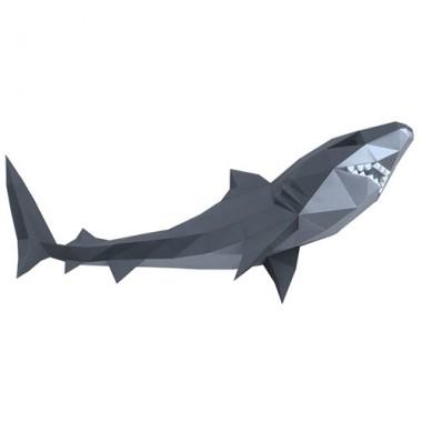Акула Жанна 3D-конструктор