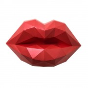 Алые губы 3D-конструктор