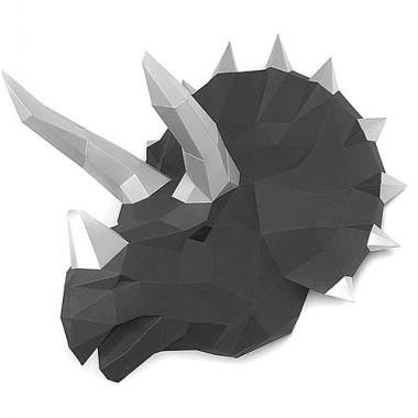 Динозавр Топс (графитовый) 3D-конструктор
