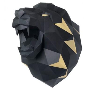 Лев Николаевич (чёрный) 3D-конструктор