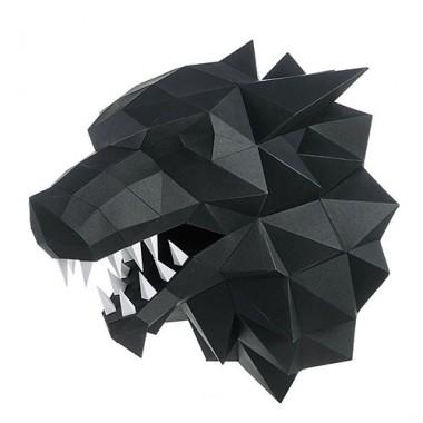 """3D-конструктор """"Лютоволк"""" (чёрный)"""