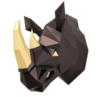 Носорог Рок 3D-конструктор