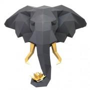 "3D-конструктор ""Слон и лотос"""