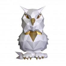 Сова Пухля (белая) 3D-конструктор