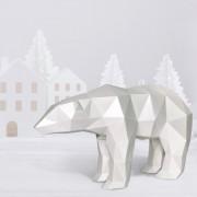 """3D-конструктор """"Полярный медведь"""""""