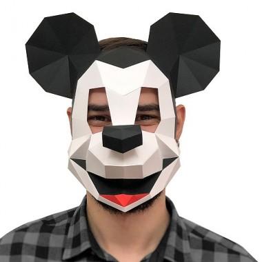 """3D-конструктор """"Маска Микки Маус"""""""
