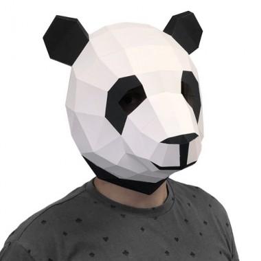 "3D-конструктор ""Маска Панда"""
