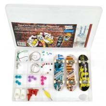 Набор 3 пластиковых фингерборда+аксессуары