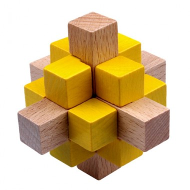 Головоломка Color Wood 4