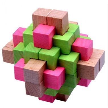 Головоломка Color Wood 5