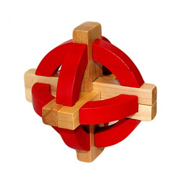 Деревянная головоломка Фонарь