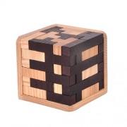 Деревянная головоломка Тетрис