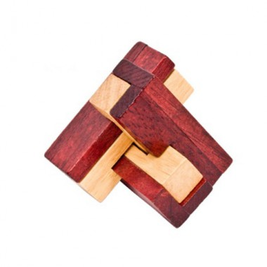 Деревянная головоломка Три Бревна