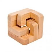 Деревянная головоломка Тройной Узел
