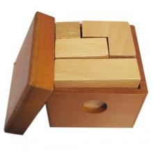 Деревянная головоломка 3D-тетрис