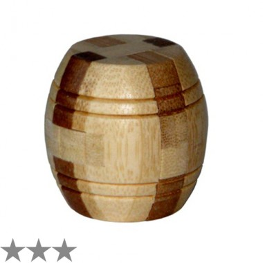 Головоломка 3D Bamboo Barrel