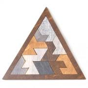 Деревянный пазл Brain Teaser Pyramid