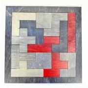 Деревянный пазл Brain Teaser Tetris