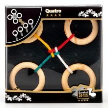 Деревянная головоломка Eureka Quatro