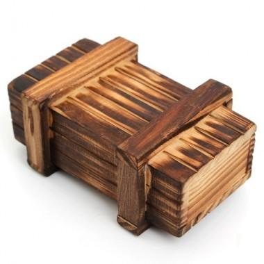 Деревянная головоломка Шкатулка с секретом L