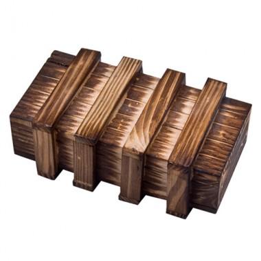 Деревянная головоломка Шкатулка с секретом XL