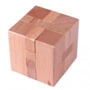 Деревянная головоломка Wood Box Куб
