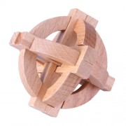Деревянная головоломка Wood Box Фонарь