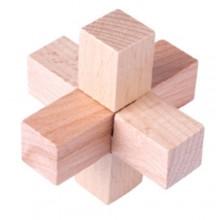 Деревянная головоломка Wood Box Крест