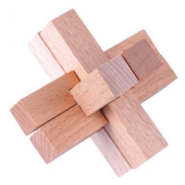 Деревянная головоломка Wood Box Крестовина