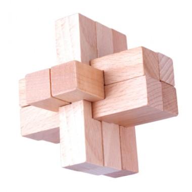 Деревянная головоломка Wood Box Крестовина 2