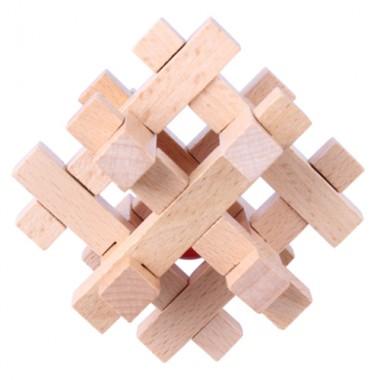 Деревянная головоломка Wood Box Решетка