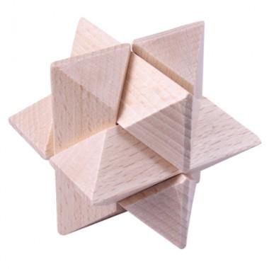 Деревянная головоломка Wood Box Звезда