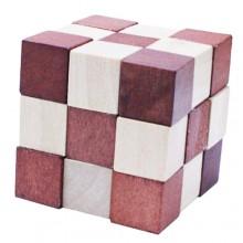 Деревянная головоломка Wooden Puzzle Змейка