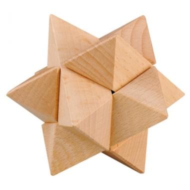 Деревянная головоломка Wooden Puzzle Звезда