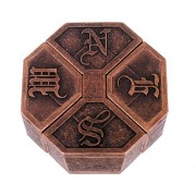 Металлическая головоломка Медальон