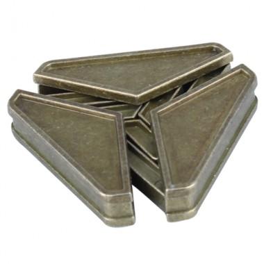 Металлическая головоломка Треугольник