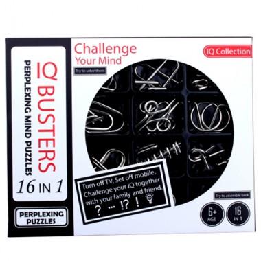 Набор металлических головоломок IQ Boosters 16