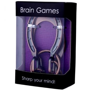 Металлическая головоломка Brain Games Подкова