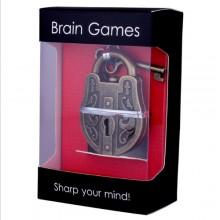 Металлическая головоломка Brain Games Замок