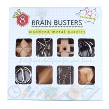 Набор головоломок Brain Busters 4+4
