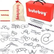 Набор металлических головоломок Butebuy 20