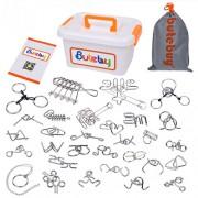 Набор металлических головоломок Butebuy 30