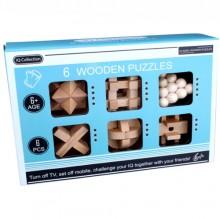 Набор деревянных головоломок Wooden Puzzles 6