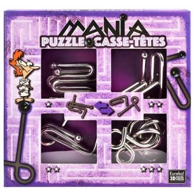 Набор металлических головоломок Casse Tetes Mania