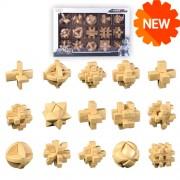 Набор головоломок MoFangGe Пластик 15 штук