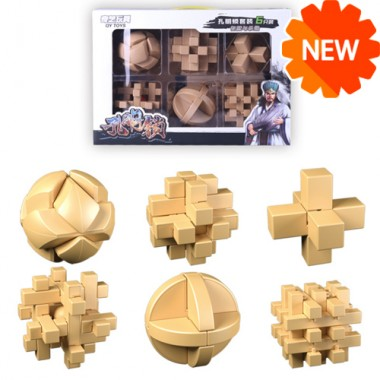 Набор головоломок MoFangGe Пластик 6 штук