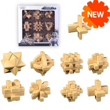Набор головоломок MoFangGe Пластик 9 штук