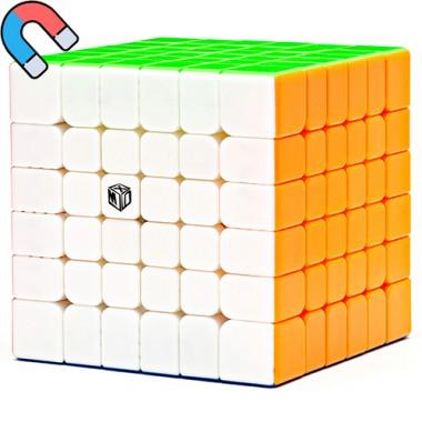 Кубик MoFangGe 6x6 X-Man Shadow Magnetic