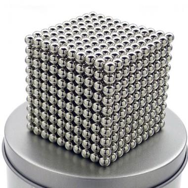 Неокуб 1000 шариков 5 мм стальной в металлической коробке