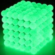 Неокуб 5 мм, светящийся в металлической коробке